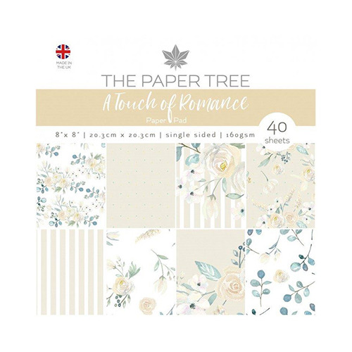 A Touch of Romance Paper Pad