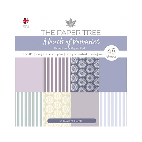 A Touch of Romance Essentials Pad - A Touch of Purple