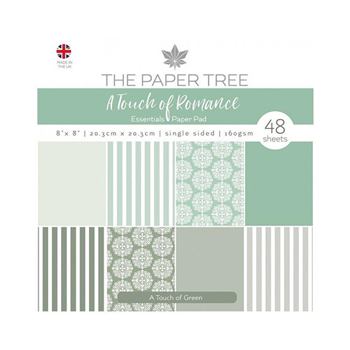 A Touch of Romance Essentials Pad - A Touch of Green