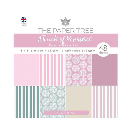 A Touch of Romance Essentials Pad - A Touch of Pink
