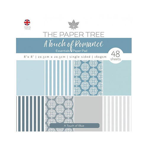 A Touch of Romance Essentials Pad - A Touch of Blue