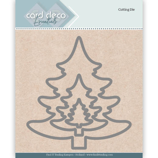 Card Deco Essentials Cutting Dies Christmas Tree