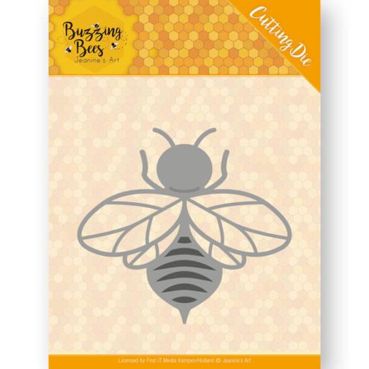Dies - Jeanines Art - Buzzing Bees - Hobbyzine Die - Buzzing Bee