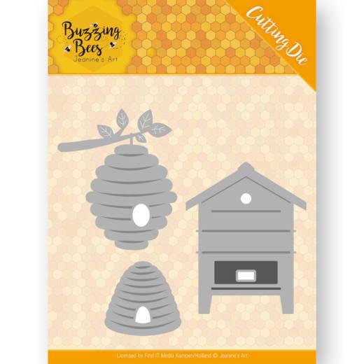 Dies - Jeanines Art - Buzzing Bees - Beehives