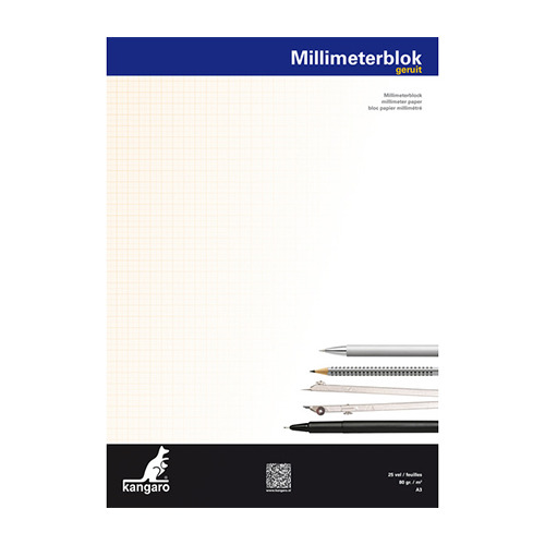 Millimeterpapier Blok