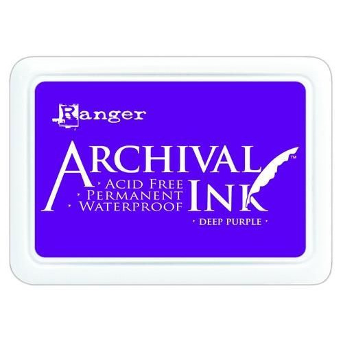 Ranger Archival Ink pad - deep purple AIP30430