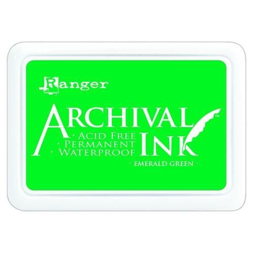 Ranger Archival Ink pad - emerald green AIP30447