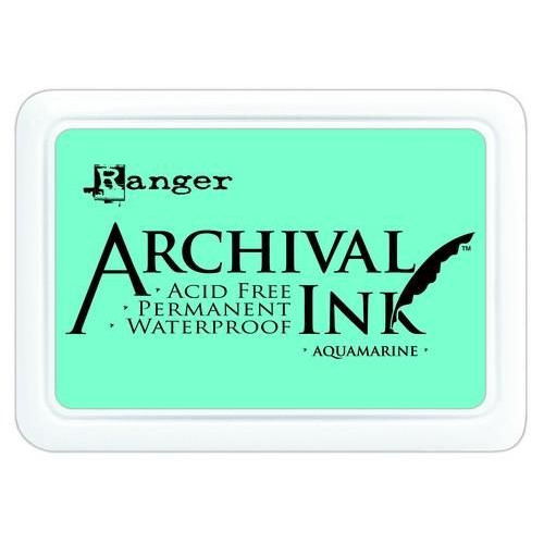 Ranger Archival Ink pad - aquamarine AIP30577
