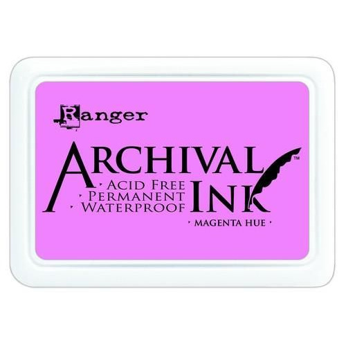 Ranger Archival Ink pad - magenta hue AIP30614