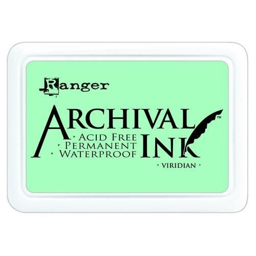 Ranger Archival Ink pad - viridian AIP0669