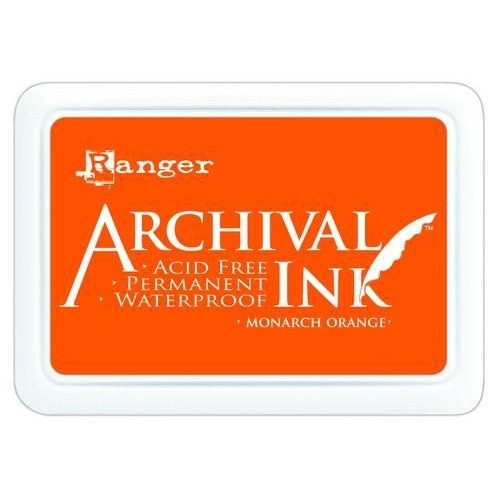 Ranger Archival Ink pad - monarch orange AIP31239