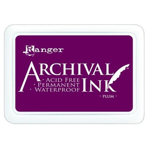 Ranger Archival Ink pad - plum AIP31499