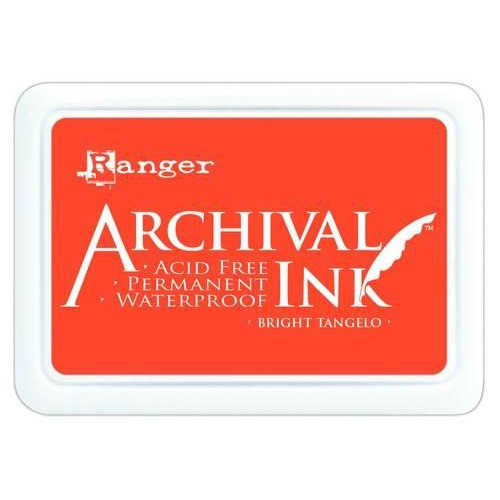 Ranger Archival Ink pad - bright tangelo AIP52487