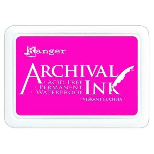 Ranger Archival Ink pad - vibrant fuchsia AIP52524