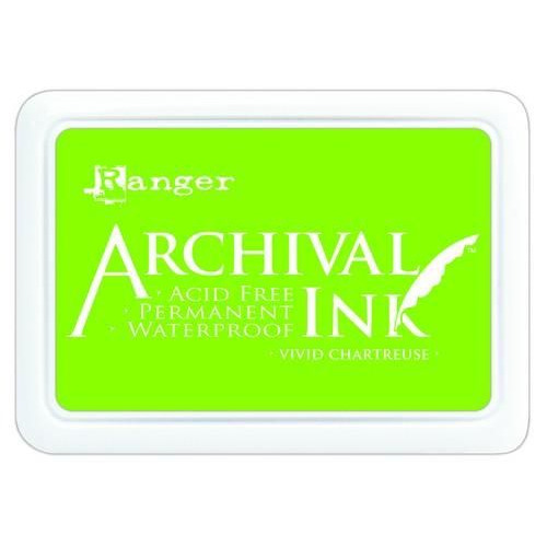 Ranger Archival Ink pad - vivid chartreuse AIP52531