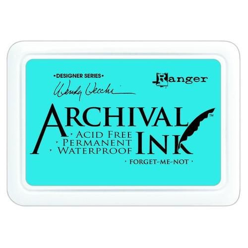 Ranger Archival Ink pad - forget me not AID41412 Wendy Vecchi