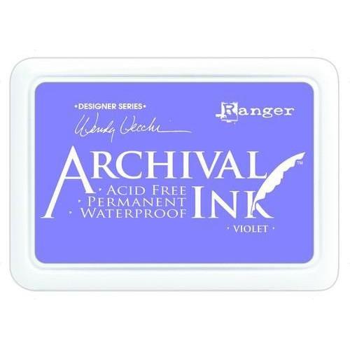 Ranger Archival Ink pad - violet AID45687 Wendy Vecchi
