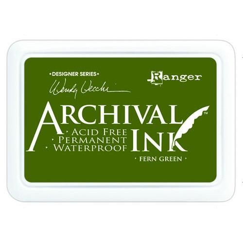 Ranger Archival Ink pad - fern green AID38962 Wendy Vecchi