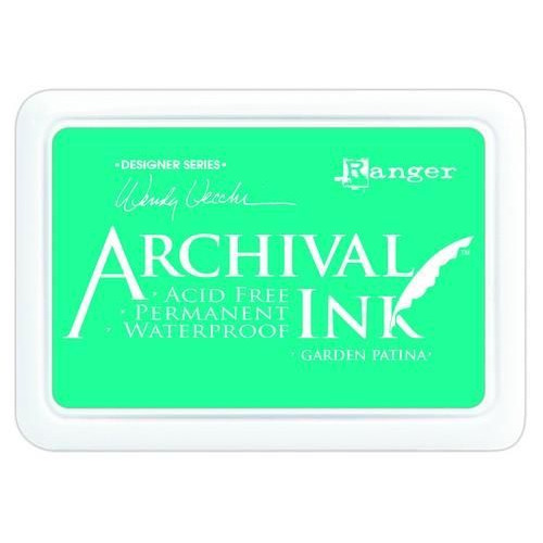 Ranger Archival Ink pad - garden patina AID48992 Wendy Vecchi