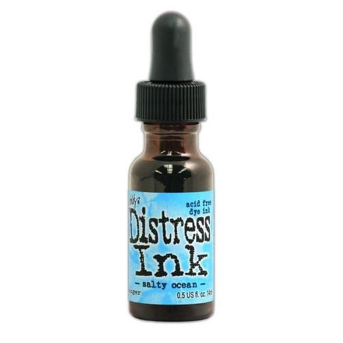 Ranger Distress Re- Inker 14 ml - salty ocean TXR35046 Tim Holtz