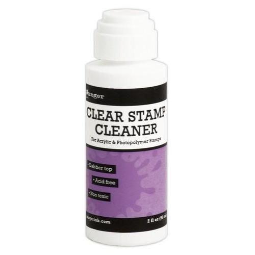 Ranger clear stamp cleaner (59ml dabber) INK23548