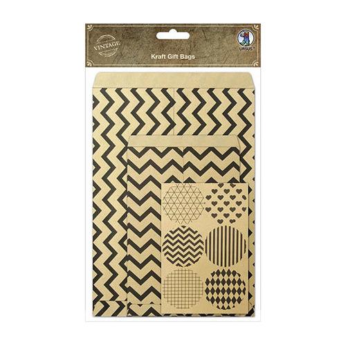Kraft Gift Bags + sheet