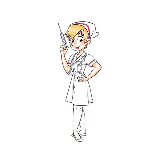 Nurse Sue Rubber Stamp