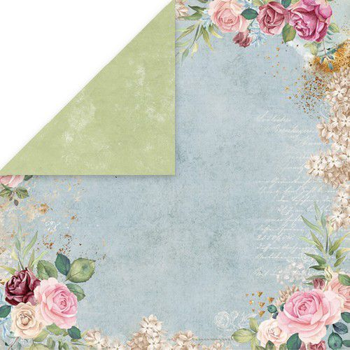 Craft&You Flower Vibes single paper 12x12 CP-FV01 (02-19)