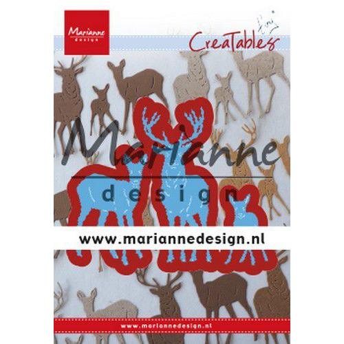 Marianne D Creatable Tiny's herten familie LR0615 110x160 mm (08-19)