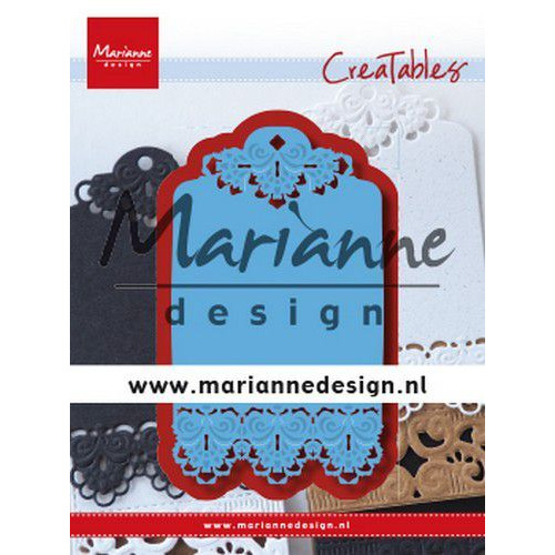 Marianne D Creatable Brocante label LR0616 120x160 mm (08-19)