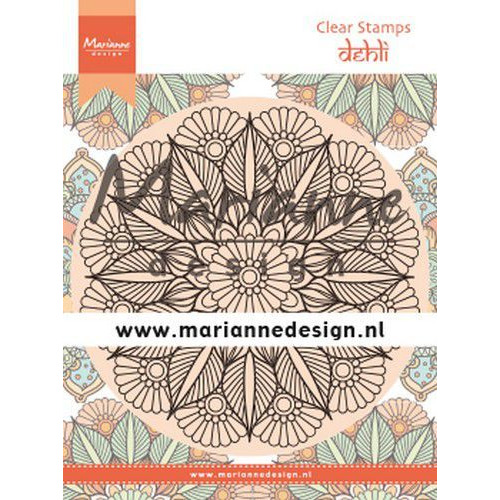 Marianne D Clear Stamps Mandala Delhi CS1035 120x160 mm (08-19)