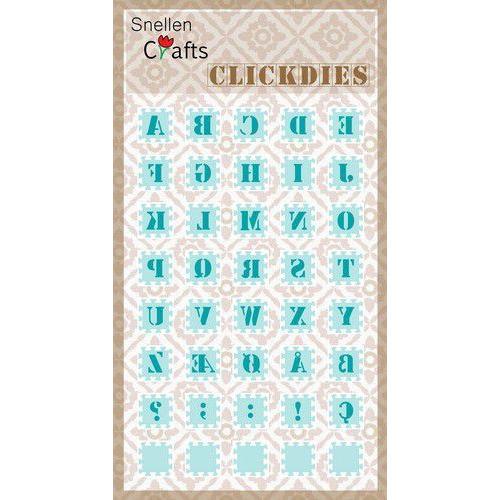 Nellie's Choice Clickdies alphabet-1 (Capitals) SCCD001 15x15mm (07-19)