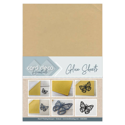 Card Deco Essentials - Glue Sheets