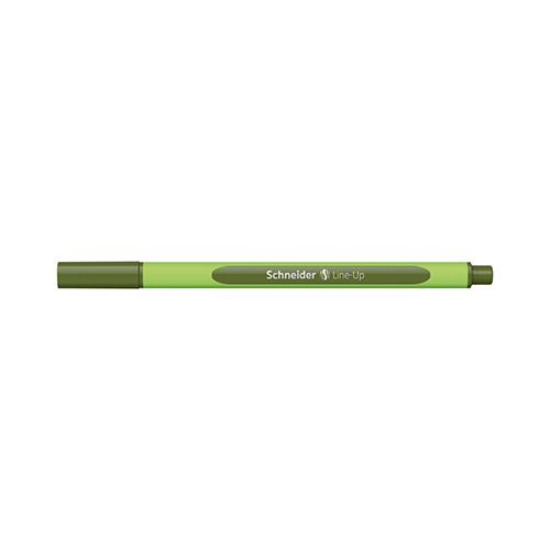 Fineliner Line-Up Olive-green