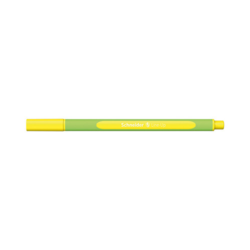 Fineliner Line-Up Neon-yellow