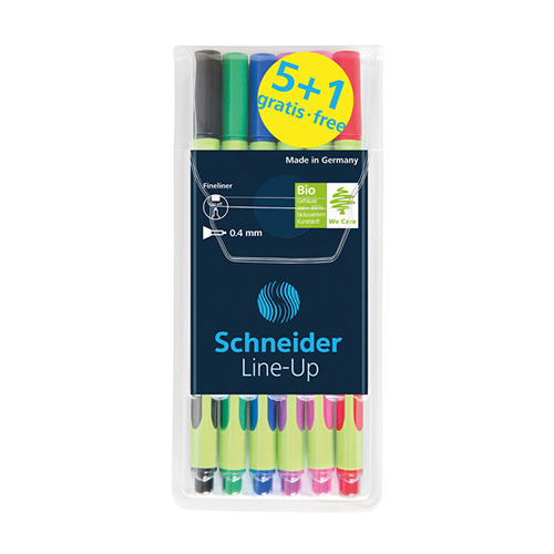 Fineliner Schneider line-up assorti