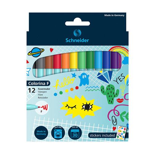 Viltstift Colorina F Verschillende kleuren