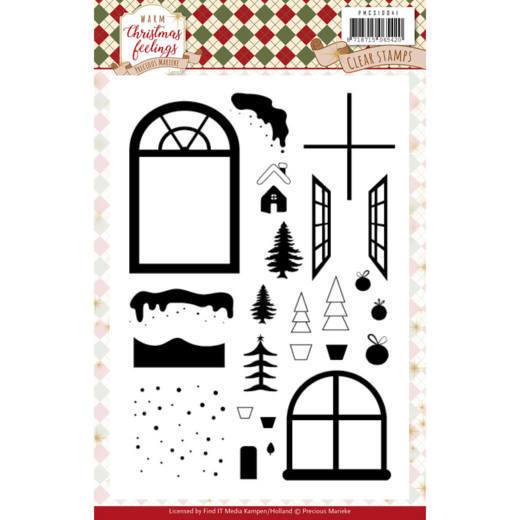 Clear Stamps - Precious Marieke - Warm Christmas Feelings