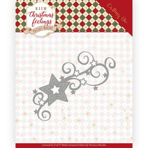Dies - Precious Marieke - Warm Christmas Feelings - Christmas Swirls