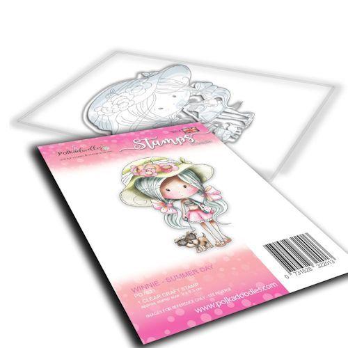 Polkadoodles stamp Winnie - Summer day