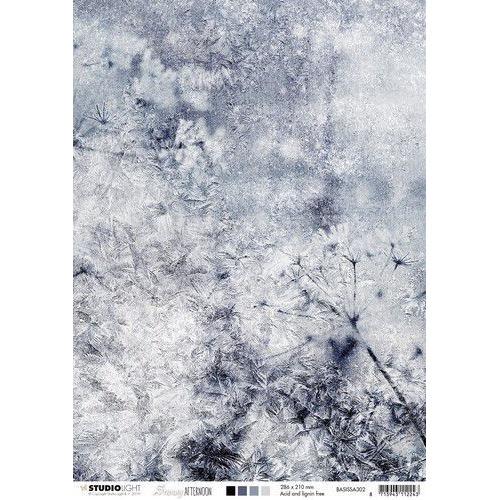 Studio Light Achtergrondpapier A4 Snowy Afternoon nr.302 BASISSA302 (08-19)