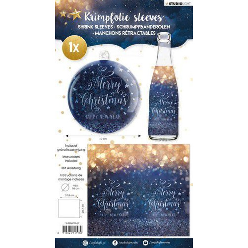 Studio Light krimpfolie 318x287 mm Bottle size nr 61 SHRINKSL61 (08-19)