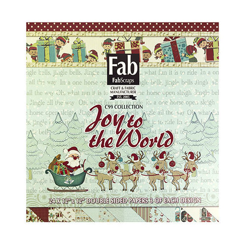 Joy To The World Paper Pad