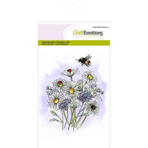 CraftEmotions clearstamps A6 - veldbloemen 1 GB (07-19)