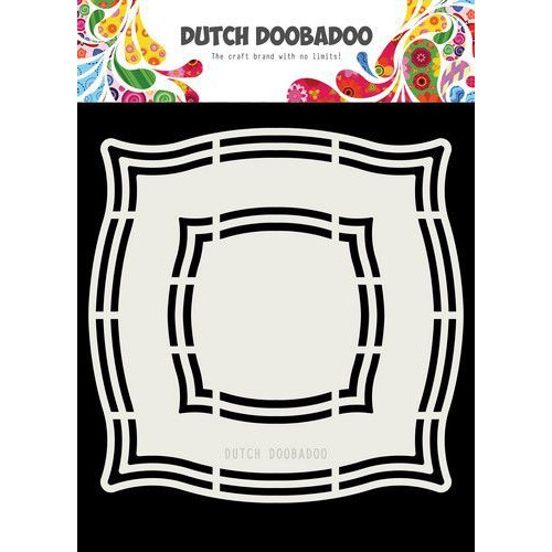 Dutch Doobadoo Dutch Shape Art Frame Elton 15x15cm 470.713.181 (08-19)
