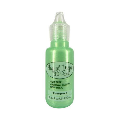 Liquid Drops 3D Pearls della Ultimate Crafts colore evergreen 20 ml