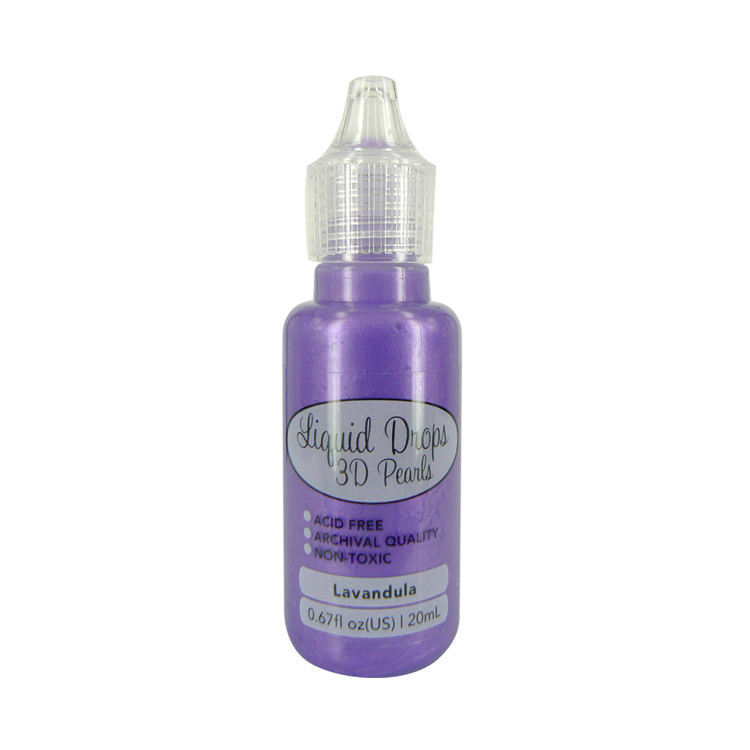 Liquid Drops 3D Pearls della Ultimate Crafts colore lavandula 20 ml