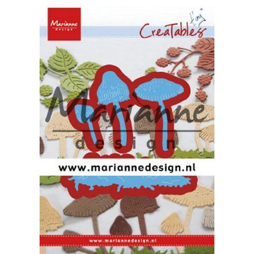 Marianne D Creatable Tiny's paddenstoelen LR0623 14,5x25 mm - 77,5x21 mm (09-19)