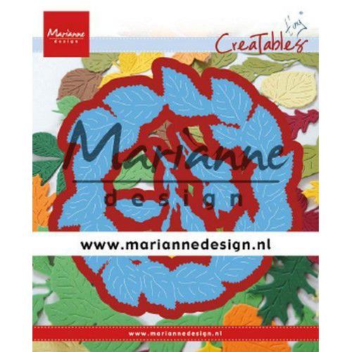 Marianne D Creatable Tiny's bladeren krans LR0624 110x110mm (09-19)