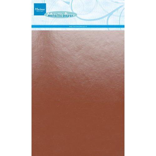 Marianne D Decoratie Metallic papier 5vl - Koper CA3138 A5 (09-19)